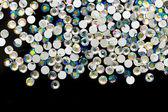 Sfondo colorato strass — Foto Stock