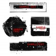 Grunge banners — Stock Vector #56327649