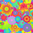 Colorful flower background — Stock Vector #65855833