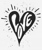 Αγάπη καρδιά — Διανυσματικό Αρχείο