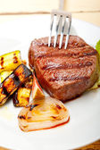 Grilled beef filet mignon — Stock Photo