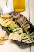 Grilled assorted vegetables  — Stock fotografie
