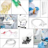 Medical collage — Foto de Stock
