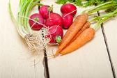 Raw root vegetable — Stock Photo