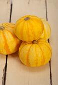 Fresh yellow pumpkin — Stock Photo