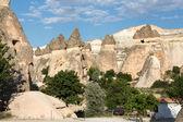 Rock formations in Goreme National Park. Cappadocia,  Turkey — Stock Photo