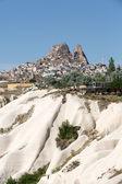 Love valley in Goreme national park. Cappadocia, Turkey — Stock Photo