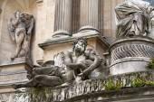 Paris -  Fountain of the four seasons. France — Stock Photo