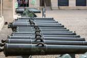 Historic cannon in Les Invalides museum in Paris, France. — Stock Photo
