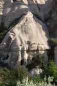 ギョレメ国立公園内の岩。カッパドキア、トルコ — ストック写真