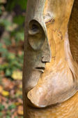 Fairy-like wooden figures from primaeval Slawic tales — Stock Photo