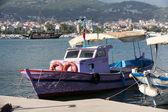 Fishing Boats in the port of Alanya . Turkey — Stock Photo