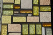 Glossy mosaic. Abstract seamless background. — Stock Photo