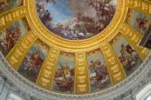 Ceiling of the Invalides in Paris, France — Stockfoto