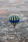 Cappadocia, Turkey.The greatest tourist attraction of Cappadocia , the flight with the balloon — Stock Photo