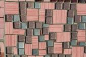 Глянцевая мозаика. абстрактный бесшовный фон. — Стоковое фото