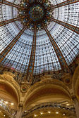 Galeries Lafayette interior in Paris — Stock Photo