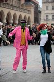 La giornata internazionale del Flashmob di rueda de Casino — Foto Stock
