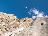 Rock formations in Goreme National Park . Cappadocia.Turkey — Stockfoto
