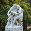Statue in Luxembourg garden of Luxembourg Palace, Paris, France — Stock Photo #73107185