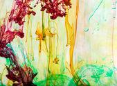 抽象和非常多彩运动模糊背景 — 图库照片