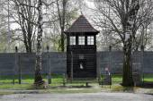 Auschwitz-Birkenau, German Nazi concentration and extermination camp — Stock Photo
