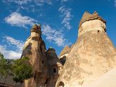 Rock formations in Goreme National Park . Cappadocia.Turkey — Stock Photo