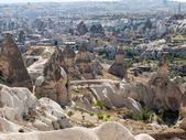 Love valley in Goreme national park. Cappadocia, Turkey — Stock Photo