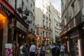 Barrio latino de parís, francia — Foto de Stock