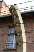 Auschwitz II Birkenau. Poland. — Stock Photo