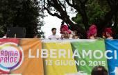 Orgoglio gay Roma — Foto Stock
