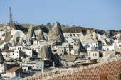 Goreme National Park in Cappadocia,  Turkey — Stock Photo