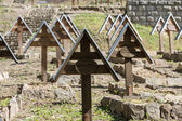 The old military cemetery form first world war in  Luzna Pustki- battle of Gorlice - Poland — Stock Photo