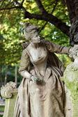 Paris - jardins de Luxemburgo — Fotografia Stock