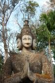 Buddha Park Sala Kaeo Kou — Stock Photo