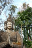 Buddha Park Sala Kaeo Kou — Stockfoto