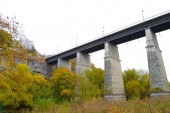 New Bridge in the Ancient City of Kamyanets-Podilsky — Stock Photo