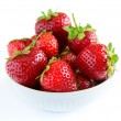 Big Pile of Fresh Berries on White Background — Stock Photo #57146143