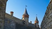 Old Fortress in the Ancient City of Kamyanets-Podilsky — 图库照片