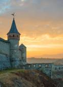 Old Fortress in the Ancient City of Kamyanets-Podilsky — Stock Photo