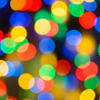 Abstract Christmas Background with Blurred Lights — Stock Photo #59919839