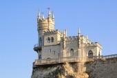 Beautiful Swallow's Nest Castle on the Rock, Crimea, Ukraine — Stock Photo