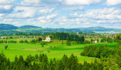 Schwangau Village and Forggensee from Neuschwanstein Castle — Stock Photo