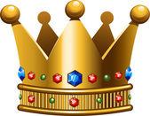 Crown — Stock Vector