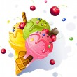 Ice Cream — Stock Vector #65656773