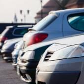 Parking voitures — Photo