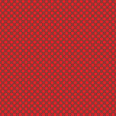 Seamless abstract weaved background of red Christmas colors — Stock Vector