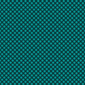 Seamless weaved background of green blue or dark turquoise Christmas colors — Stock Vector