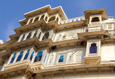 City Palace in Udaipur. Rajasthan, India, Asia — Stock Photo