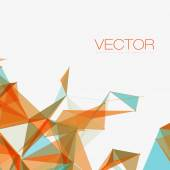 Abstract Shapes Background — Stock Vector